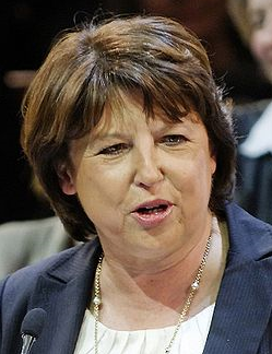 Photo of INDISCRÉTION : MARTINE AUBRY A NÎMES A LA MI-MARS 2012
