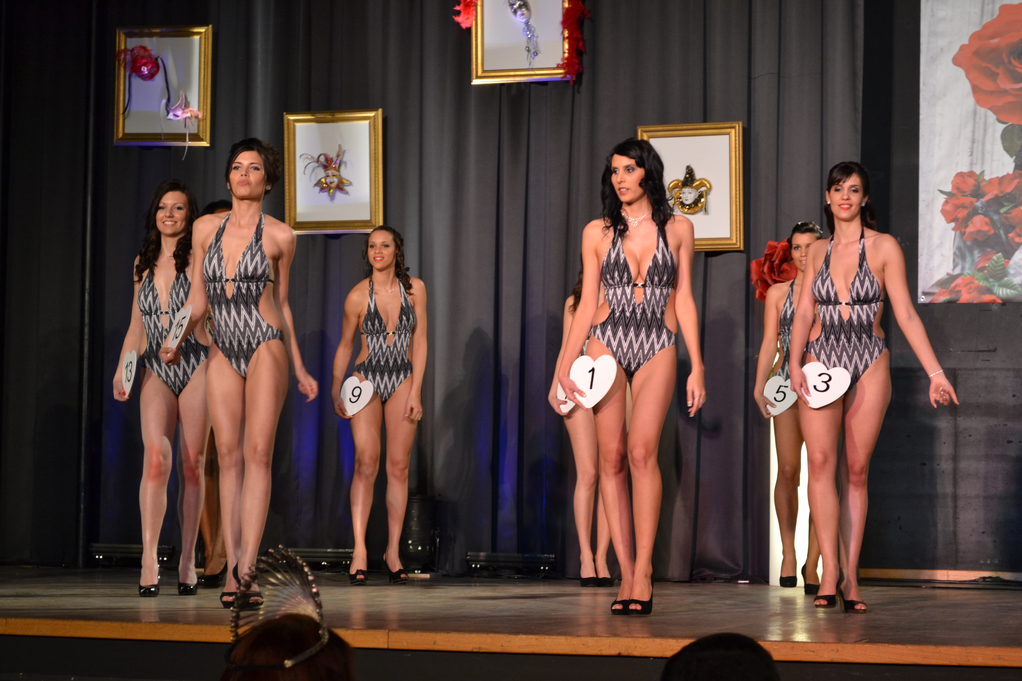 Photo of MISS GARD 2012 : LES 15 CANDIDATES EN MAILLOT, PASSAGE OBLIGÉ !