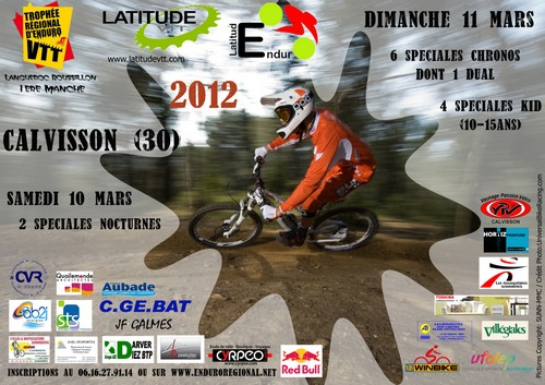 Photo of CALVISSON : 3EME ÉDITION DE LARTITUD'ENDURO, CE DIMANCHE 11 MARS 2012