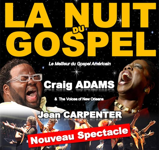 Photo of NÎMES : NOUVELLE NUIT DU GOSPEL, CE LUNDI 16 AVRIL 2012