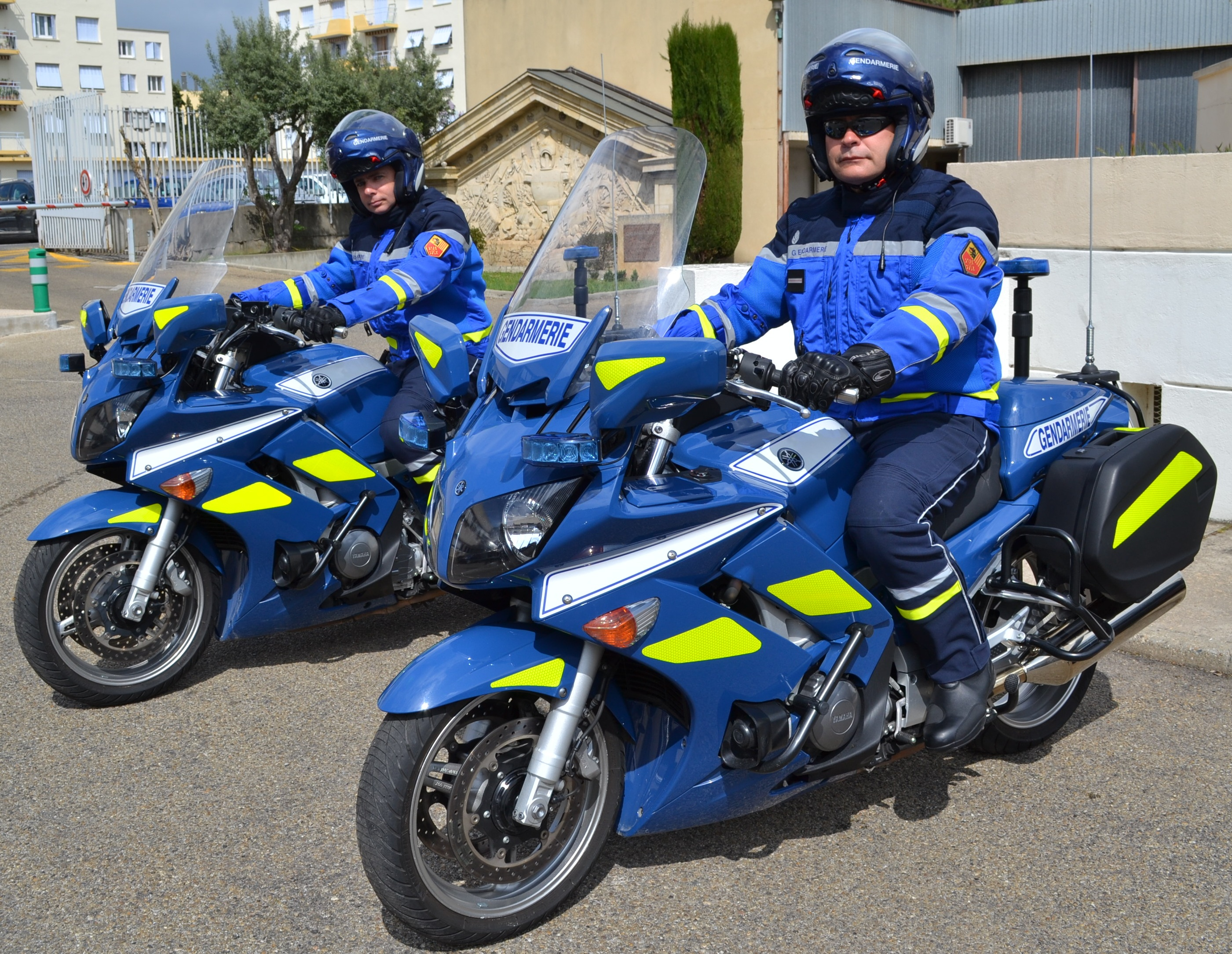 gendarmerie les motards gardois changent de tenue objectif gard. Black Bedroom Furniture Sets. Home Design Ideas