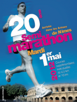 Photo of NÎMES : 20EME SEMI-MARATHON, CE MARDI 1ER MAI 2012