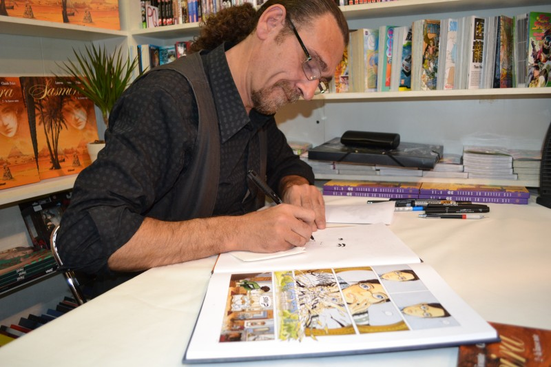 Photo of SALON EUROPÉEN DE LA BD 2012 : Le dessinateur de « Sasmira » remporte le prix du nouveau talent