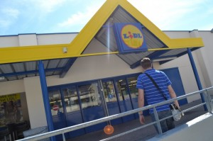 Magasin Lidl. (Photo Archives)