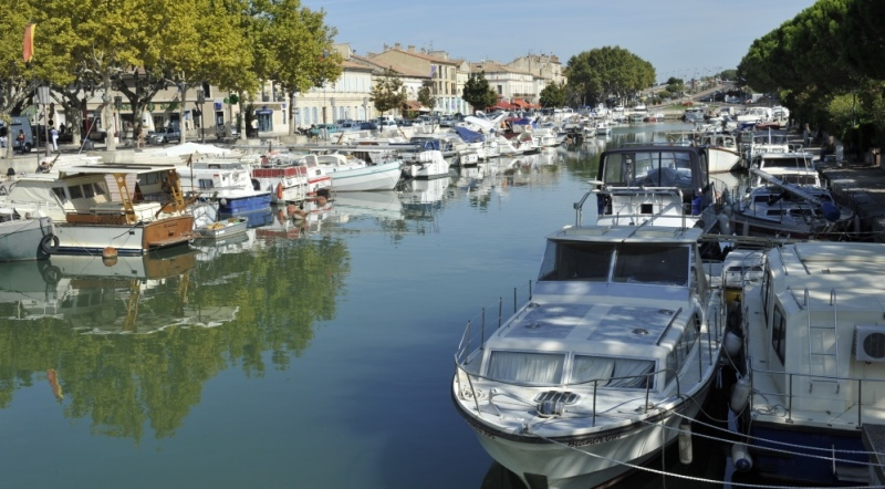 Image d'illustration, port de Beaucaire. DR