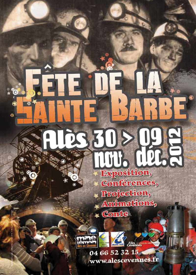 Photo of ALÈS : La 6ème édition de la Sainte-Barbe du 30 novembre au 9 décembre