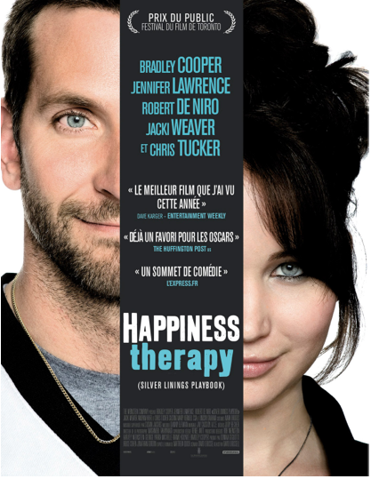 Photo of KINEPOLIS Avant-première d'Happiness Therapy demain à 19h45