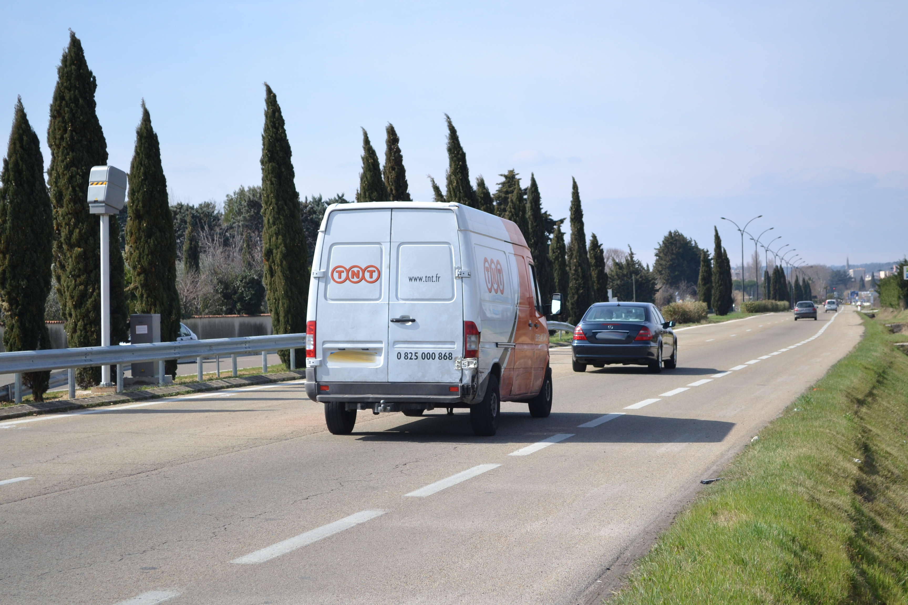 Photo of NÎMES Un radar vitesse a fait son apparition sur la route de Beaucaire