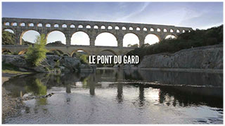 Photo of DISTINCTION Le Pont du Gard nominé au Web Programm Festival à la Rochelle