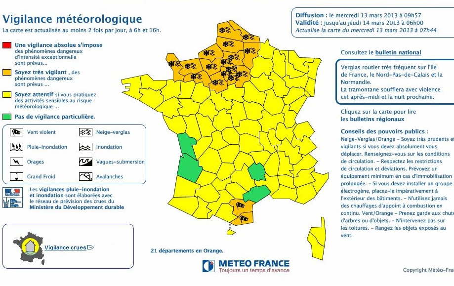 Photo of METEO Le froid glisse vers le sud de la France, le Gard placé en vigilance jaune