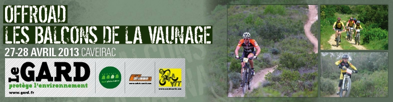 Photo of CAVEIRAC : Challenge Offroad de VTT « Les Balcons de la Vaunage » ce week-end du 27 et 28 avril 2013