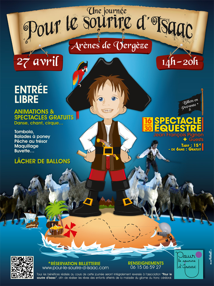 Photo of VERGEZE : Journée d'animations au profit de l'association « Pour le sourire d'Isaac » ce samedi 27 avril 2013