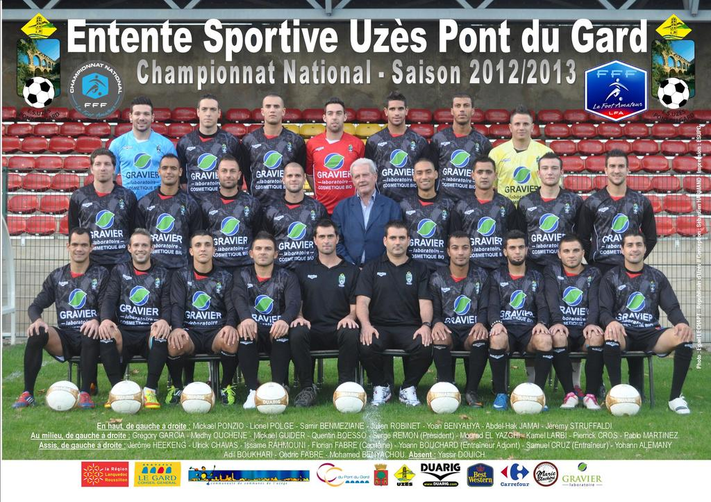 Football l 39 entente sportive uz s pont du gard a dit adieu au national face rouen ce vendredi - Meteo uzes gard ...