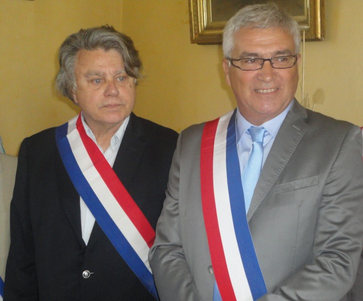 Gilbert Collard et Jean-Paul Franc. D.R/