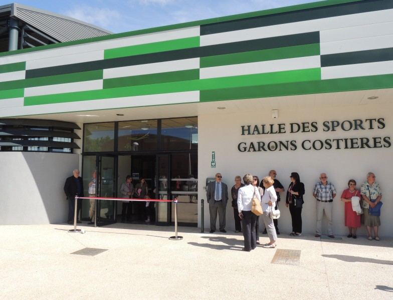 Inauguration Halle des sports Garons Costières
