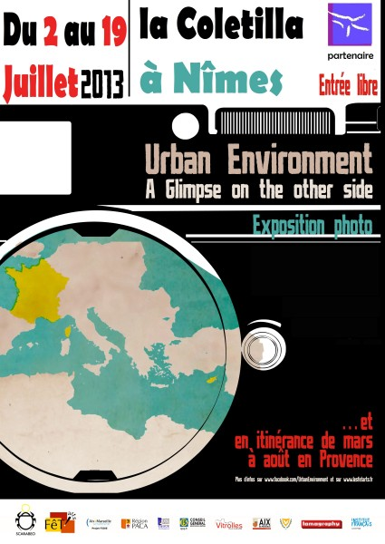Affiche_expo Urban Environment-LA COLETILLA