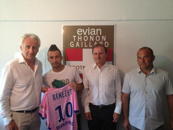 Photo of OFFICIEL L'ancien nîmois Nicolas Benezet s'engage avec Évian Thonon Gaillard FC