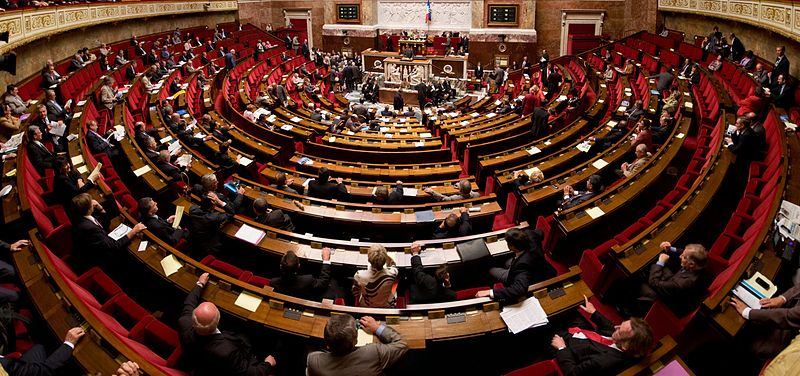 L'hémicycle de l'Assemblée Nationale (Photo d'archives : Objectif Gard)