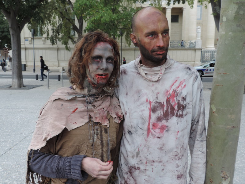 Zombie Walk. Photo Objectif Gard TD