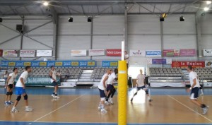 ALÈS VOLLEY-BALL 1er match, 1ère victoire contre Calais