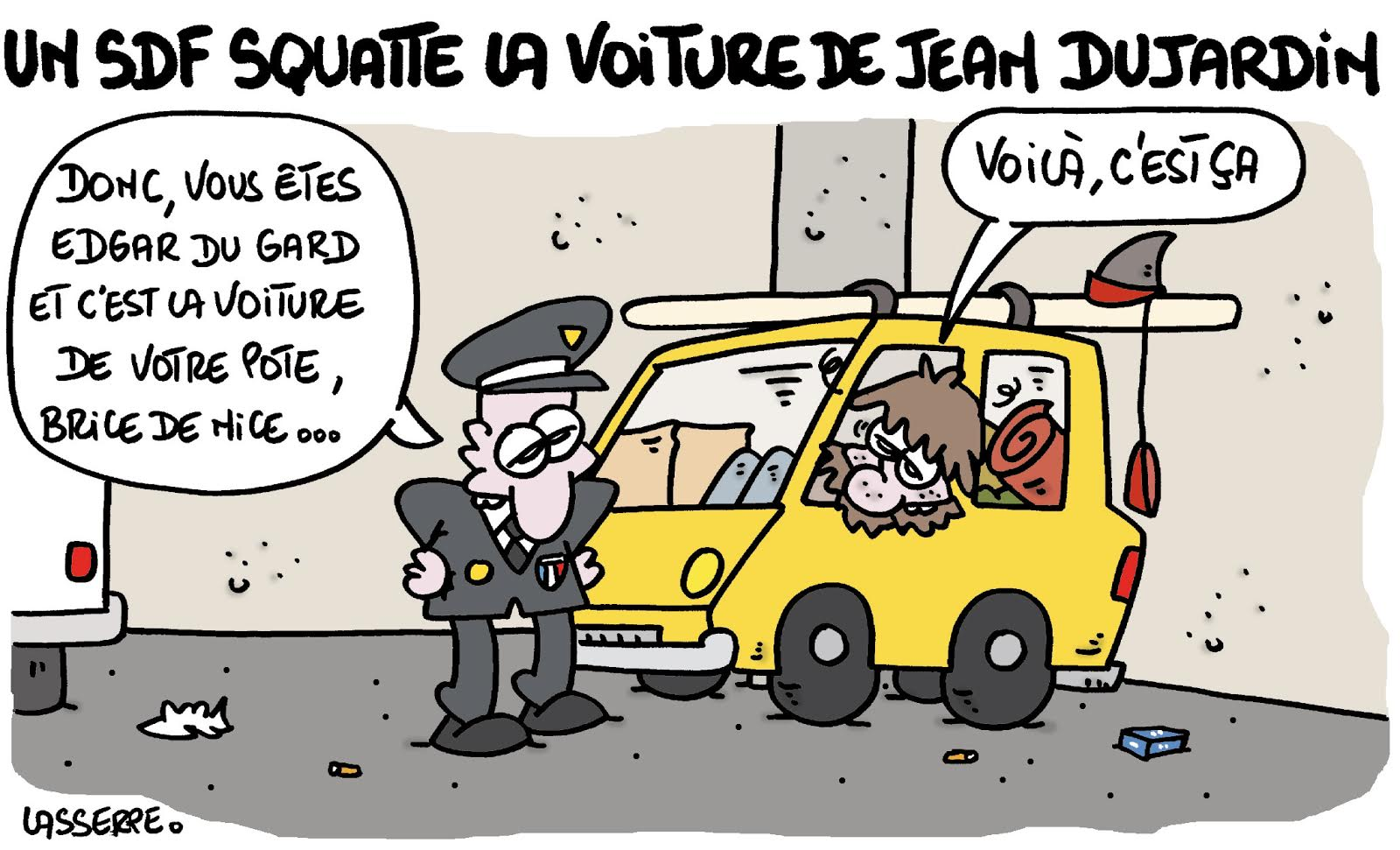 Accident voiture de jean dujardin for Dujardin automobile