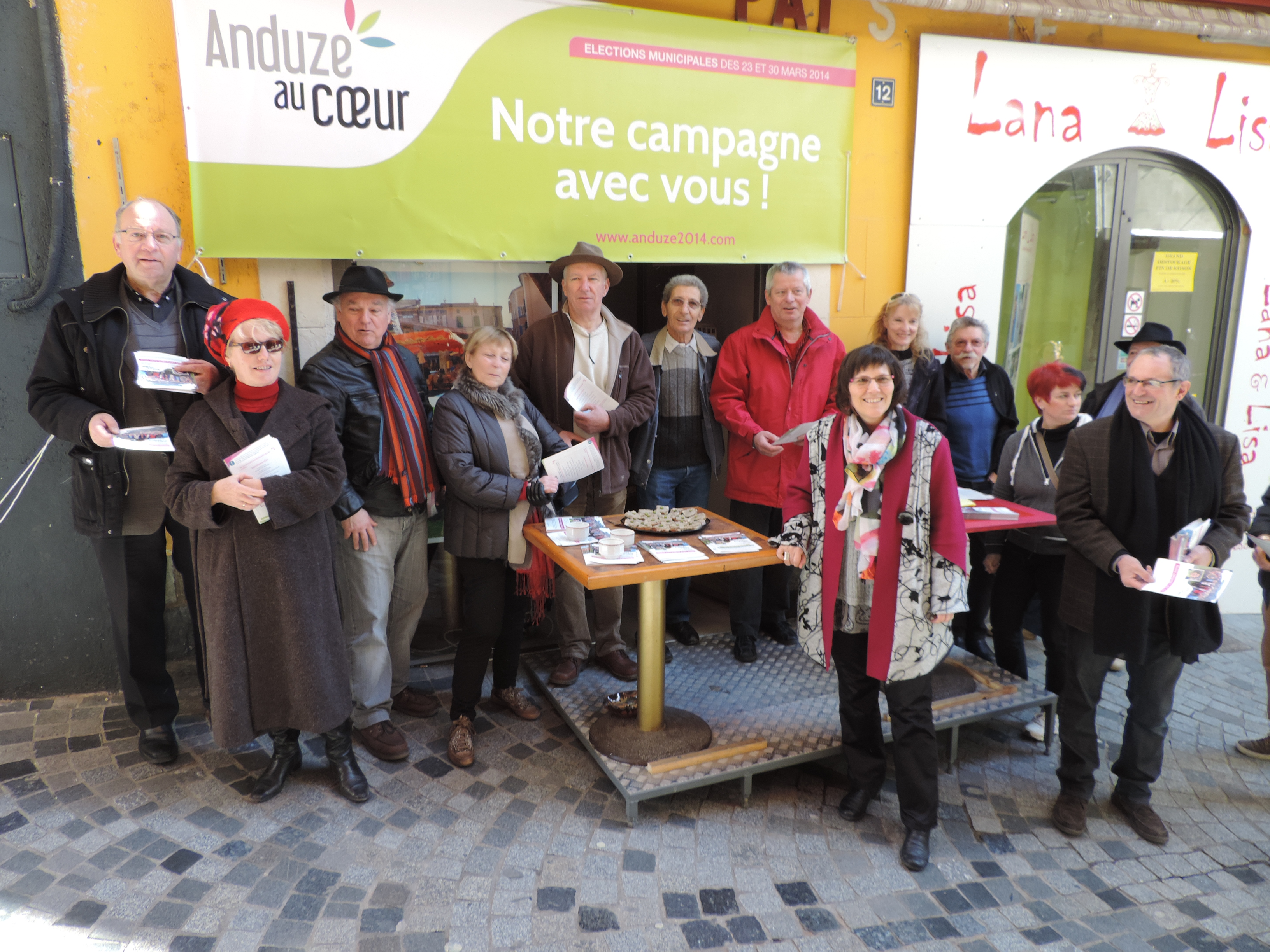 Photo of MUNICIPALES Une nouvelle permanence à Anduze, celle de Geneviève Blanc
