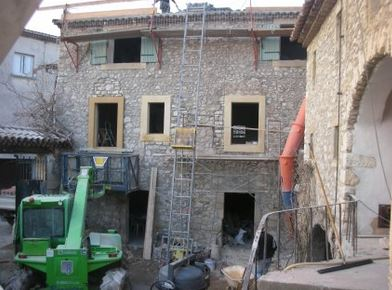 La maison du Grand site en chantier Ph DR/SMGG