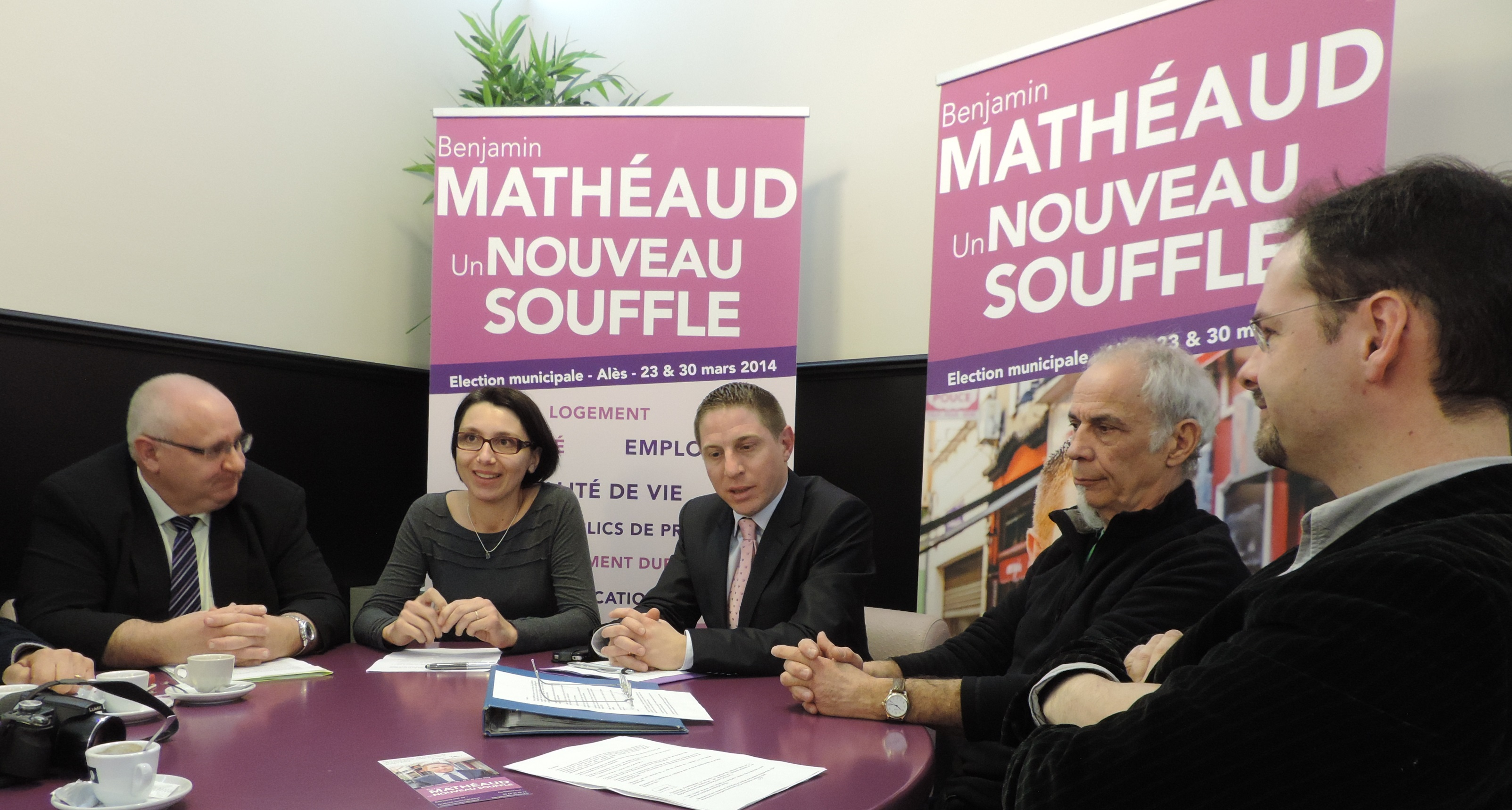 Photo of MUNICIPALES Benjamin Mathéaud « soigne » son environnement