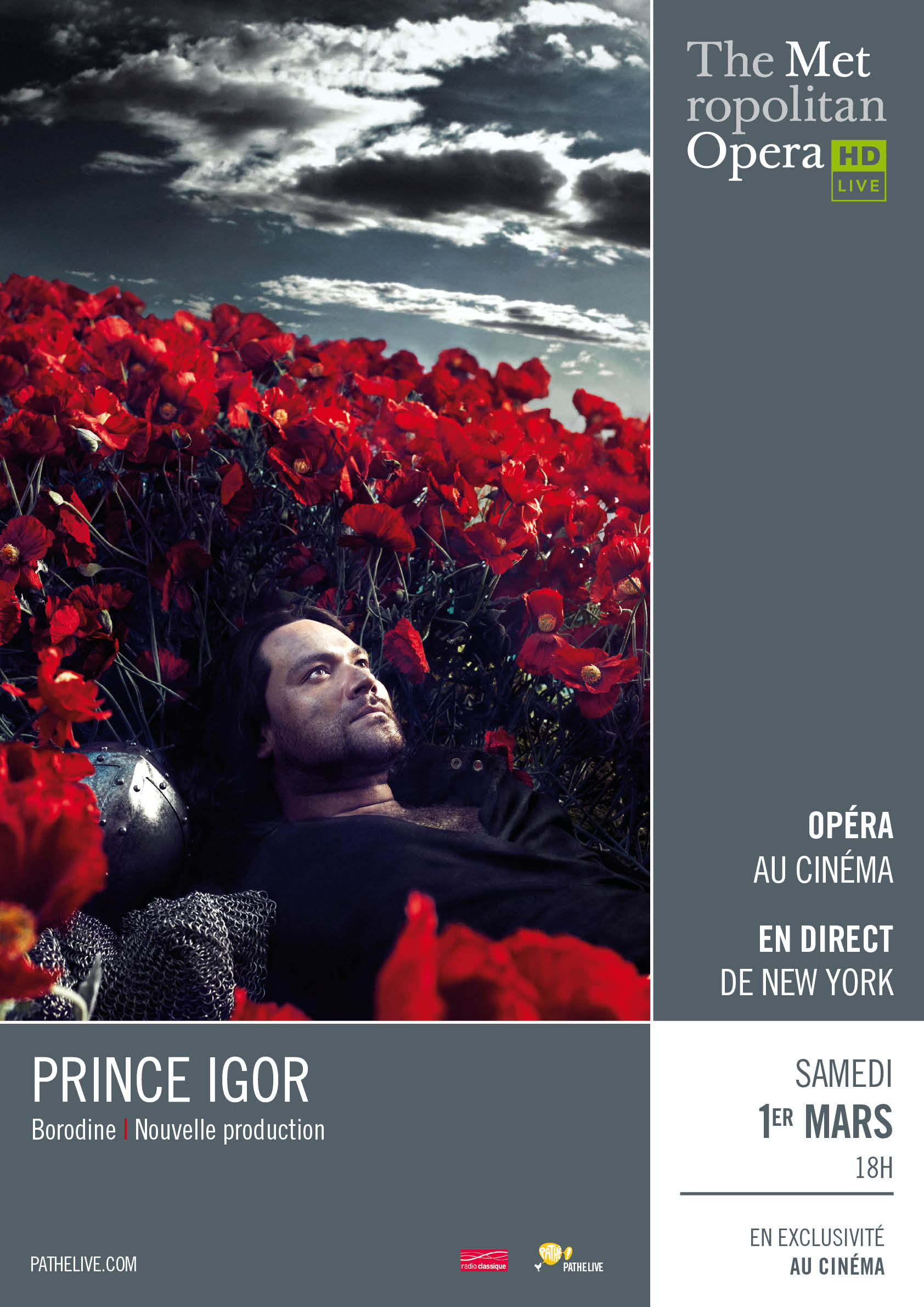 Photo of FOURQUES Retransmission de la pièce « Prince Igor » de Borodine en direct du Métropolitan Opéra de New York ce samedi 1er mars 2014