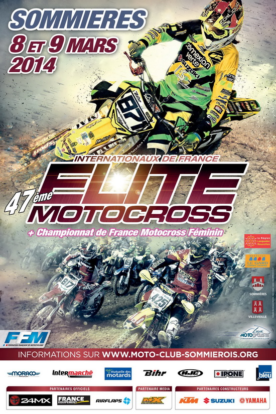 Photo of SOMMIÈRES Championnat de France Elite Motocross, ce week-end !
