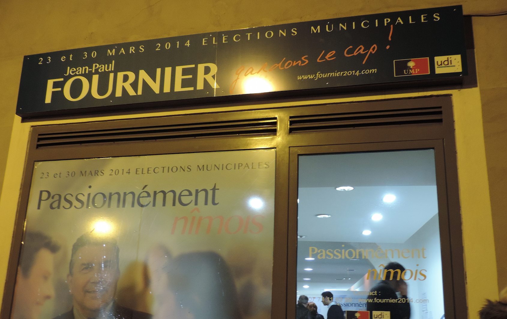 Photo of MUNICIPALES. « Battons-nous ! », lance le maire sortant UMP Jean-Paul Fournier