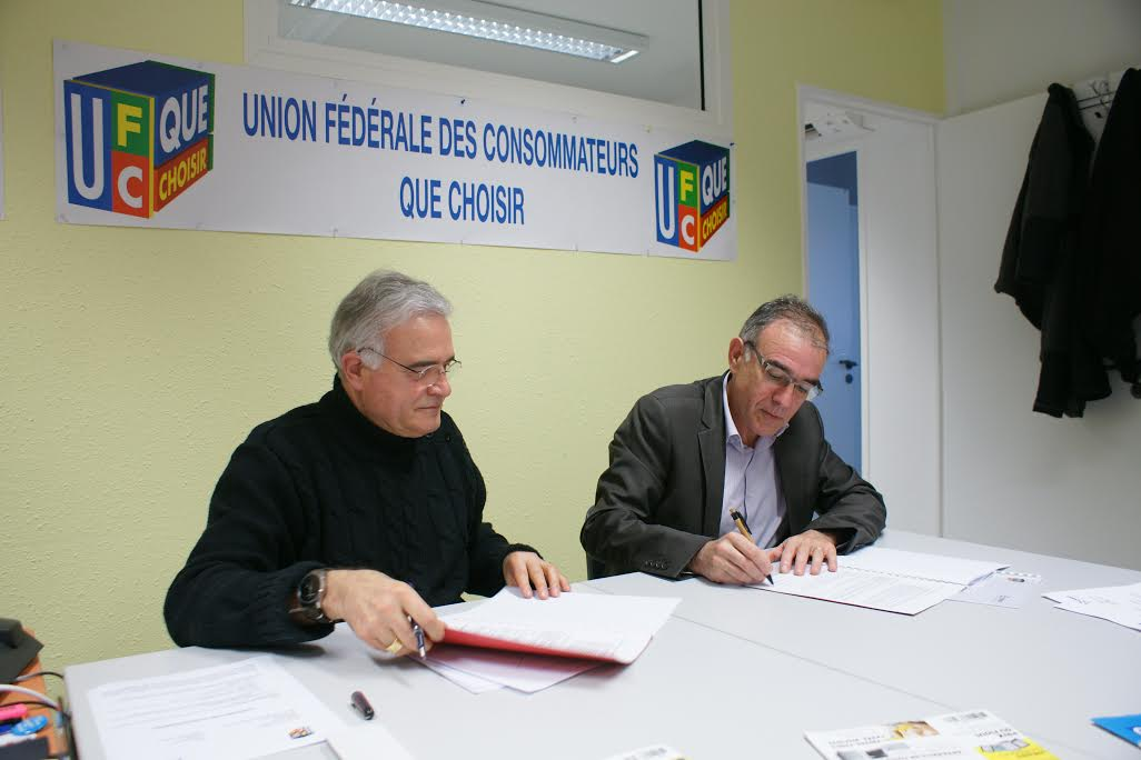 Lectricit signature d 39 une convention entre ufc que for Que choisir nimes