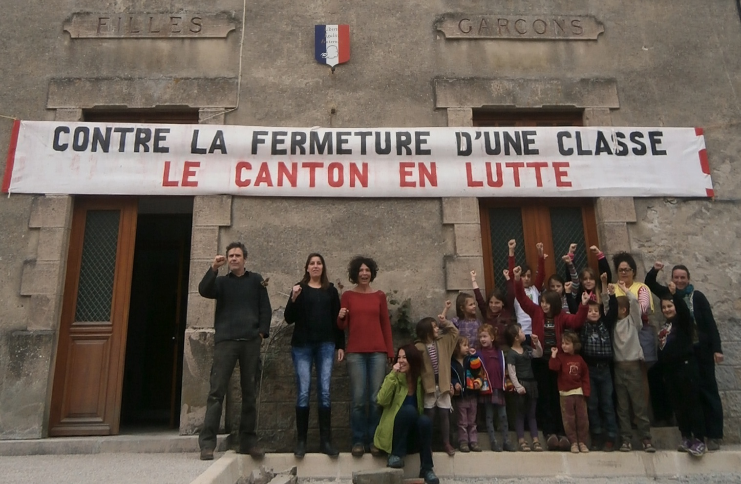 Photo of ALZON Des parents d'élèves se mobilisent contre la fermeture d'une classe de maternelle