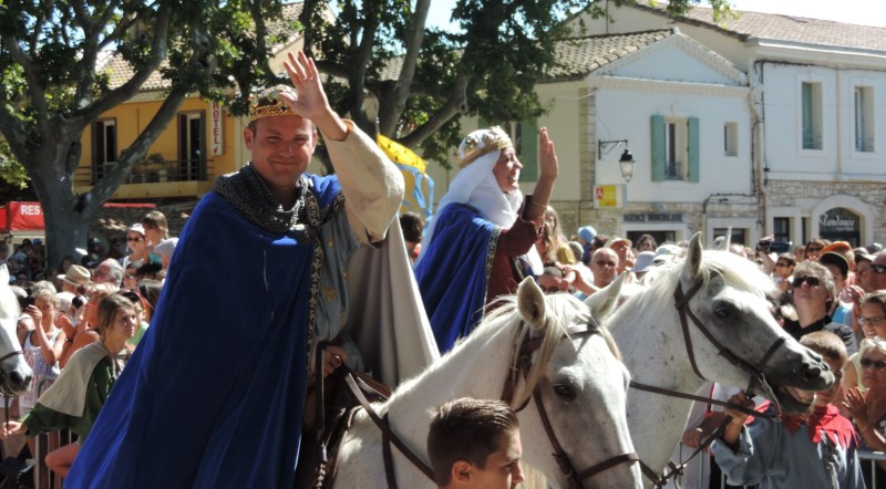 Fête de la Saint-Louis à Aigues-Mortes. Photo Tony Duret / Objectif Gard