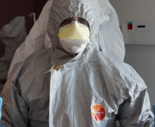 "CHU DE NÎMES Ebola ""Attention à la psychose"""