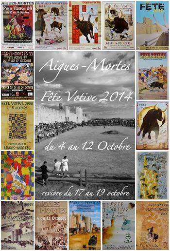 Photo of AIGUES-MORTES Fête votive du samedi 04 au 12 octobre et du 17 au 20 octobre 2014  !