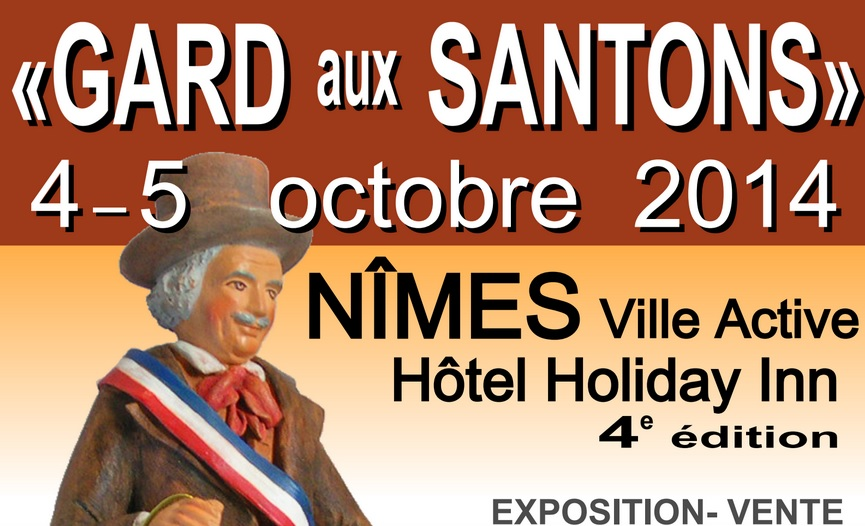 Photo of A VOS AGENDAS Le salon « Gard aux santons » ce week-end à l'Holiday Inn