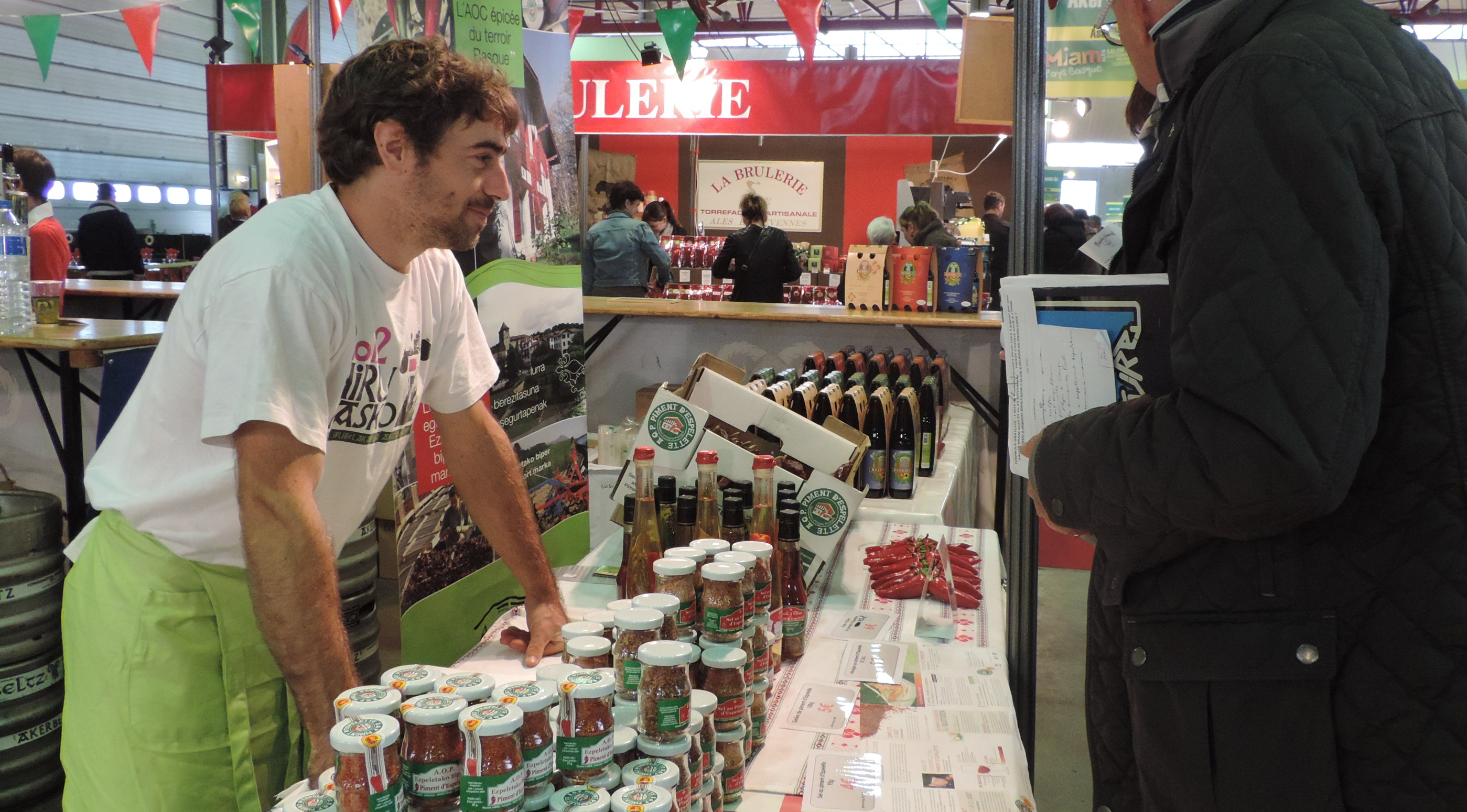 Photo of SALON MIAM Le piment d'Espelette, star du week-end