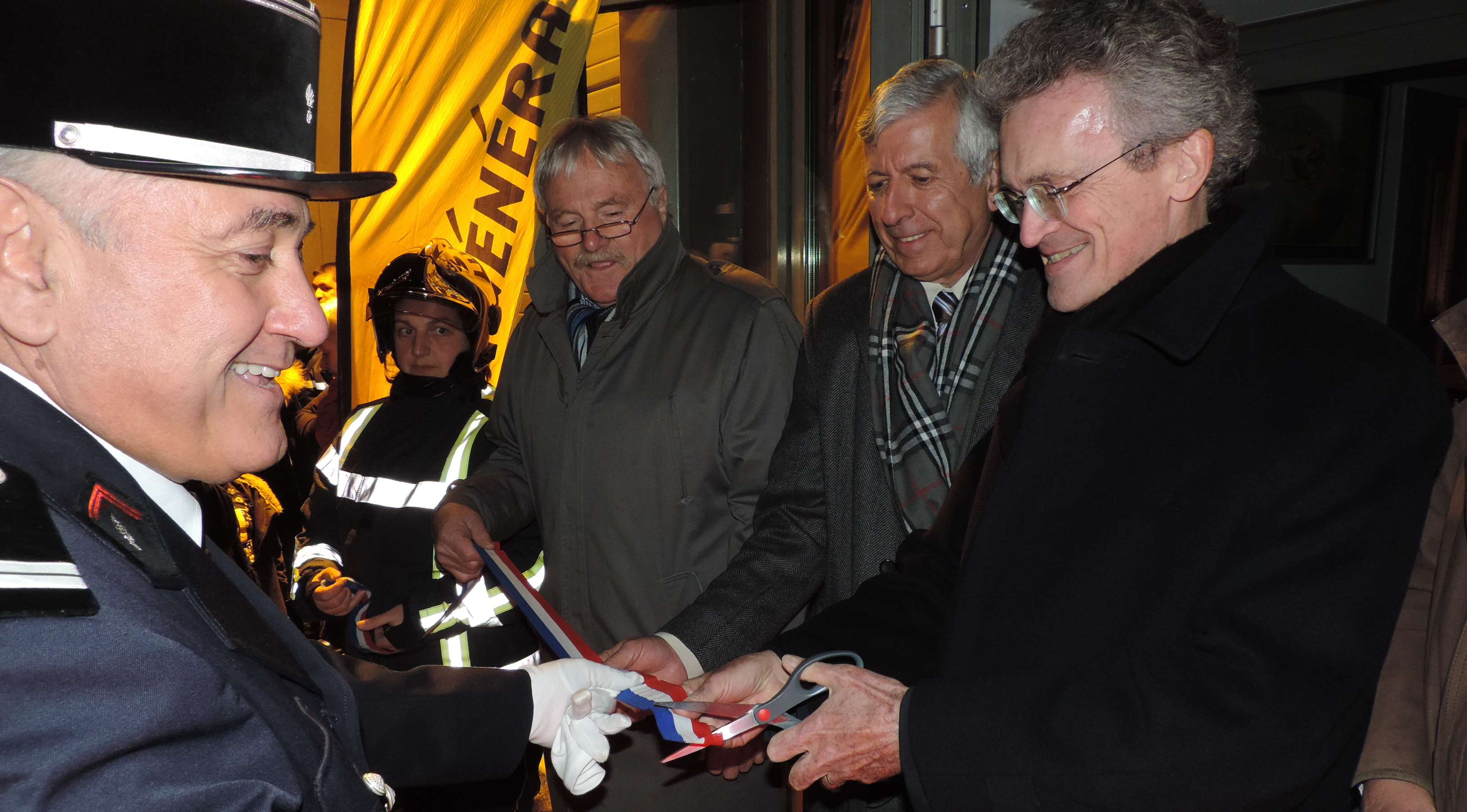 Photo of SAINT-JEAN-DU-GARD L'extension de la caserne des pompiers inaugurée