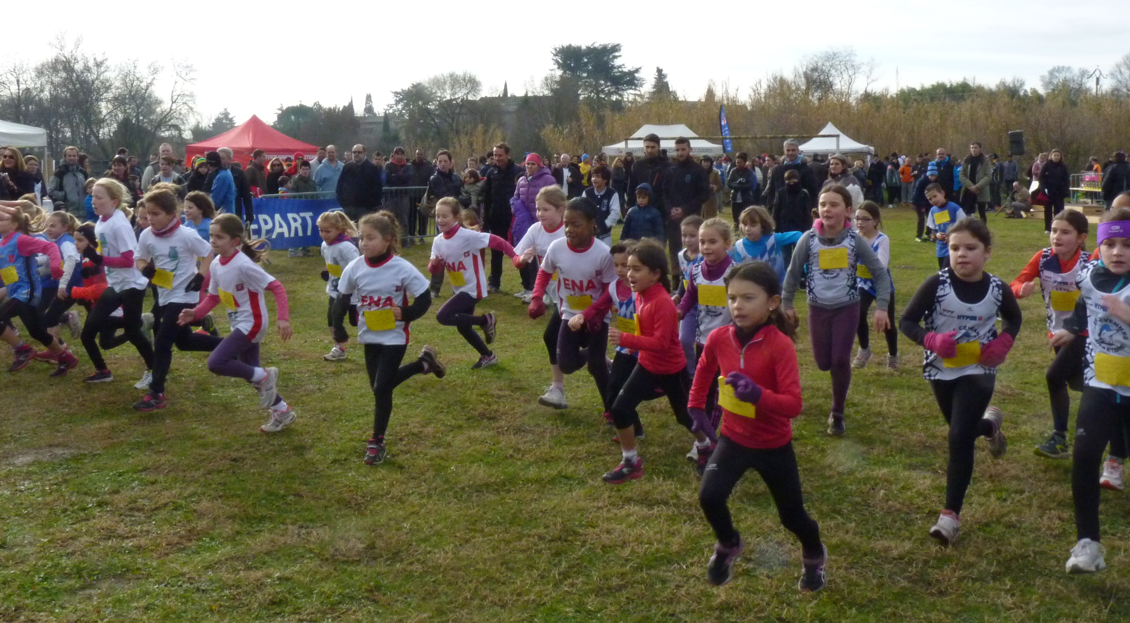 Photo of ATUECH 500 coureurs s'affrontent au Cross d'Anduze