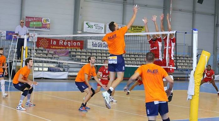 VOLLEY-BALL Le CAC Alès chute à la 4e place de la ligue B