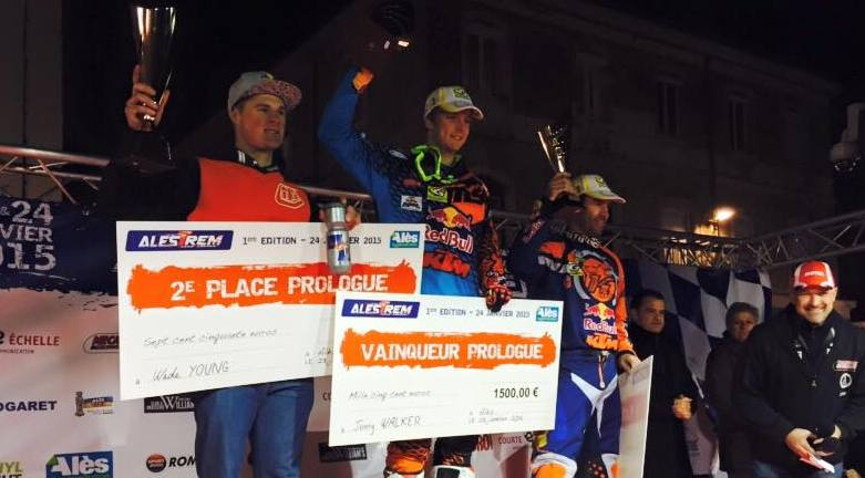 Photo of MOTO Jonny Walker, vainqueur du premier Alès Trêm