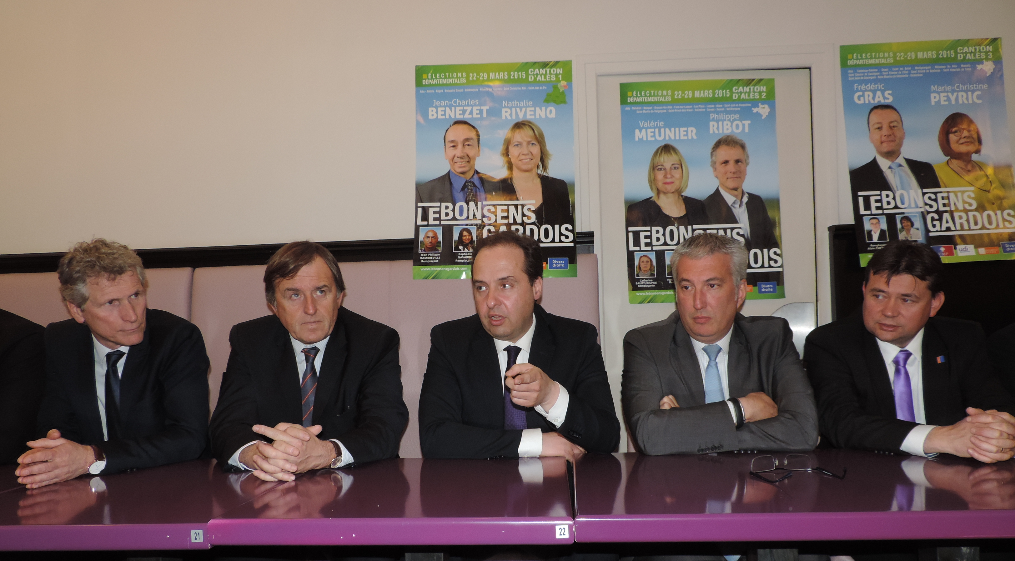 Photo of DÉPARTEMENTALES Jean-Christophe Lagarde soutient ses troupes à Alès