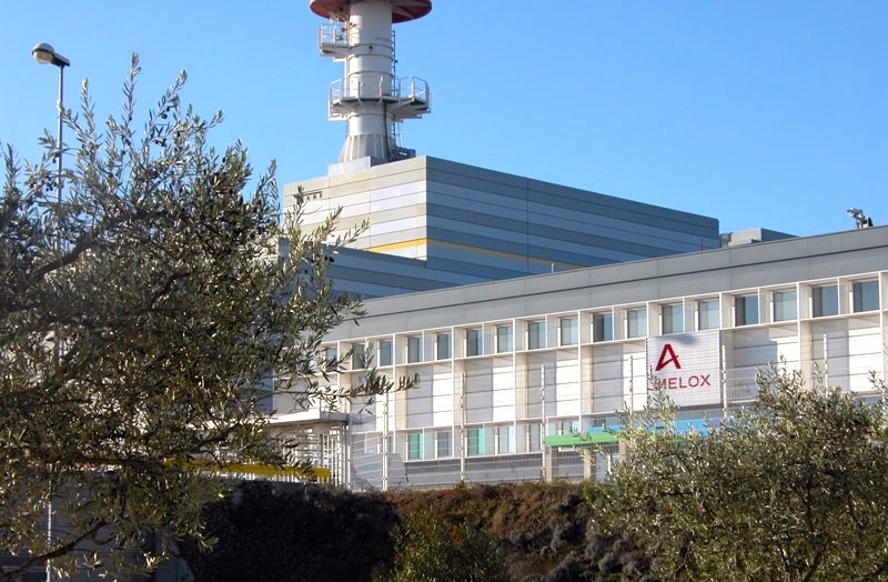Le site Areva Melox de Marcoule (Photo d'archives / Objectif Gard)