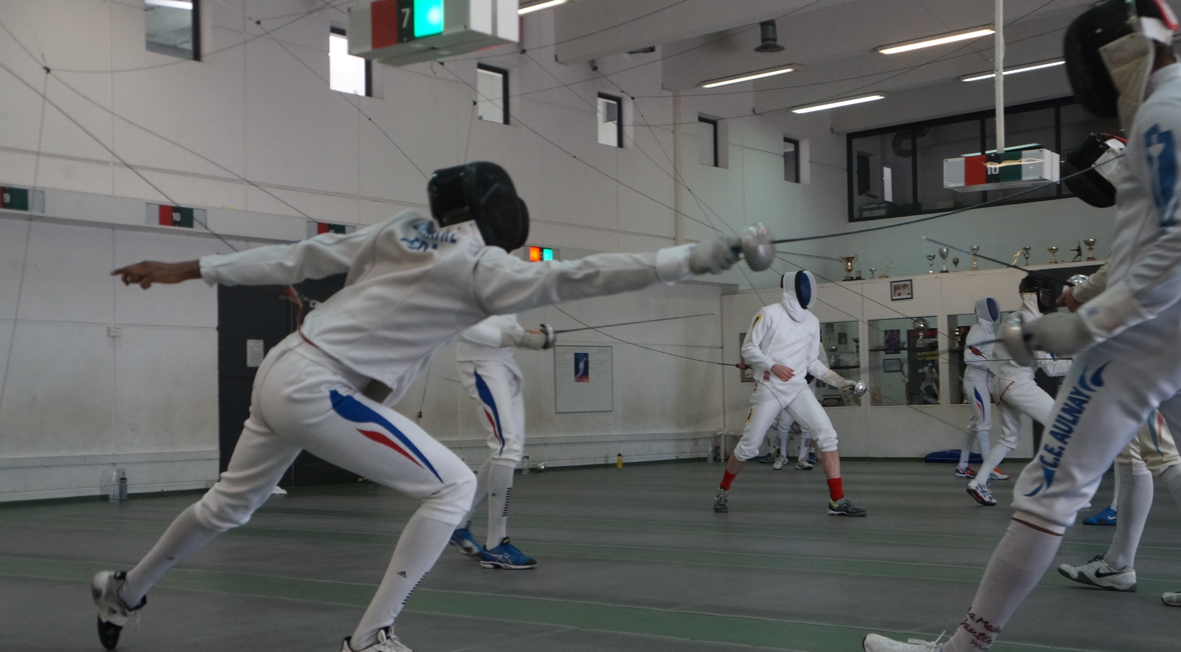 Photo of EN IMAGES L'équipe de France d'Épée en stage à Nîmes