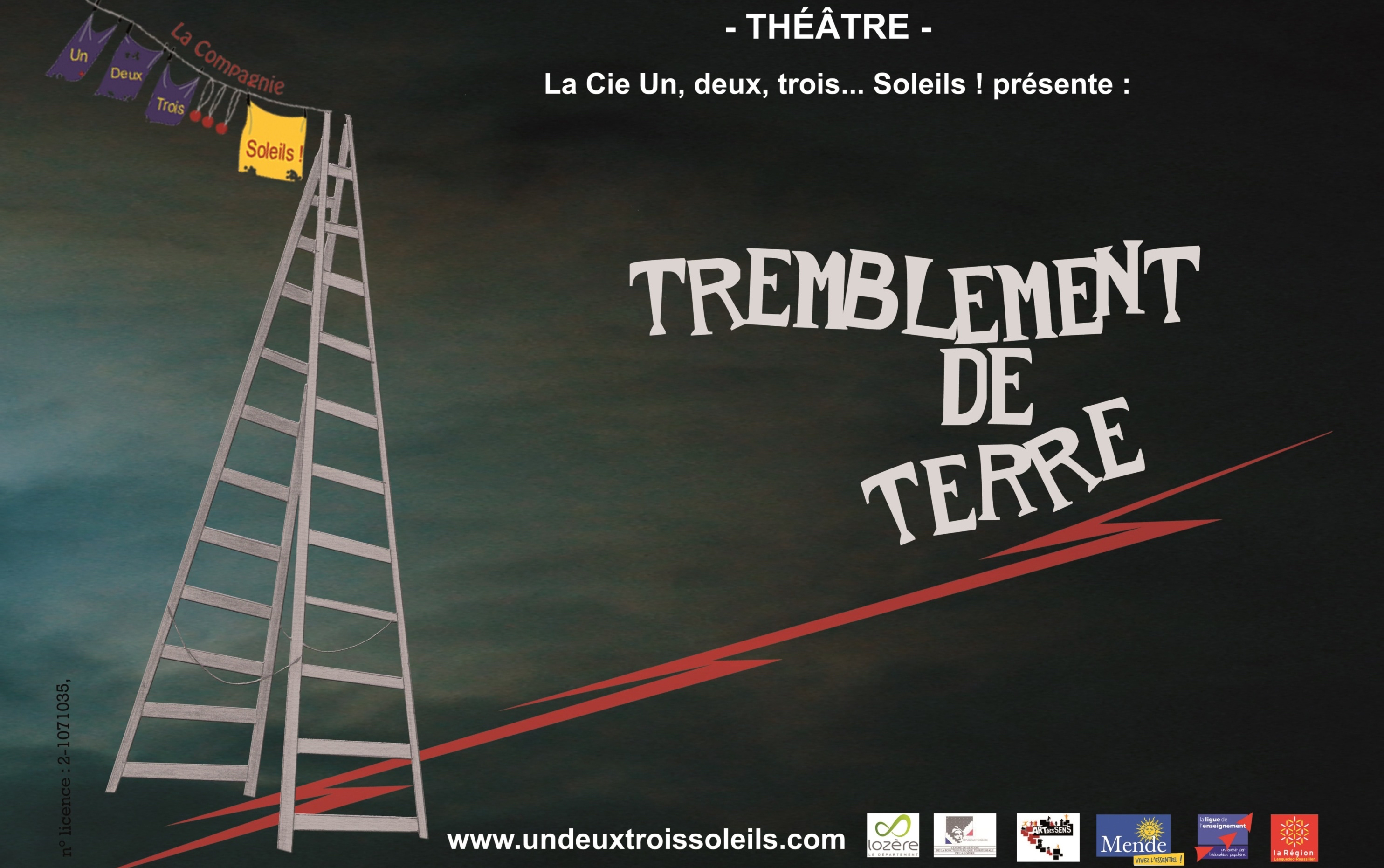 Photo of À VOS AGENDAS « Tremblement de Terre », vendredi au centre culturel de Bagnols
