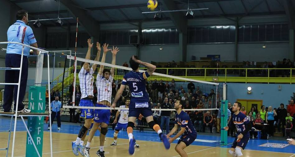 Photo of VOLLEY-BALL Alès tombe en quart de finale des play-off