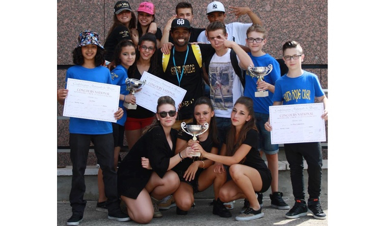 Photo of BAGNOLS Les jeunes bagnolais champions de France de danse hip-hop !