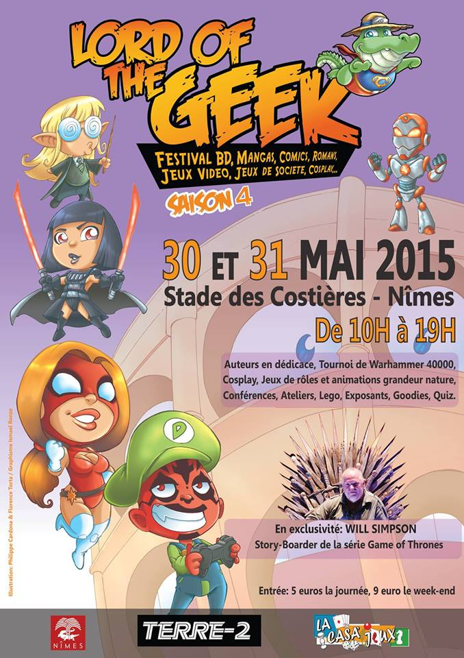 Photo of NÎMES Lord of the Geek de retour au Stade des Costières, ce week-end !