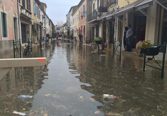 Photo of ALERTE ORANGE Partiellement inondé, Aigues-Mortes met en place une cellule de crise